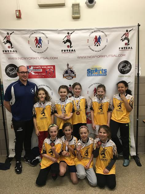G9/10 NY Futsal League Winners - WSSL Red Bulls G10 East