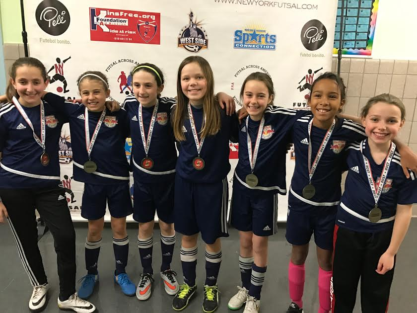 G11 NY Futsal League Winners - WSSL Red Bulls G11 North