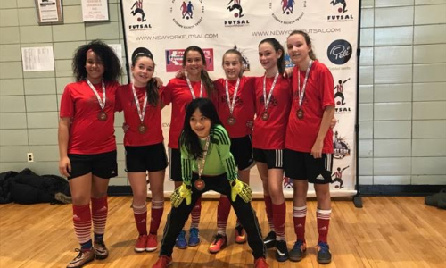 G13 NY Futsal League Winners - Gaynor Girls